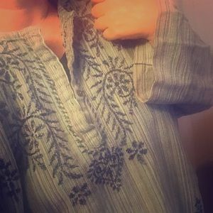 || VINTAGE || embroidered tunic